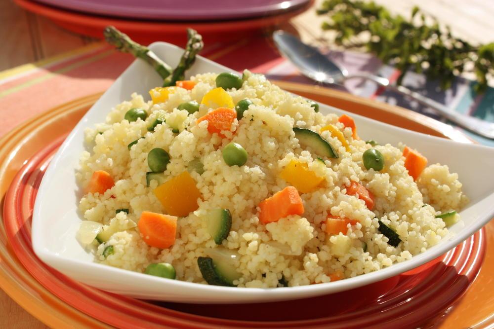 Spring Vegetable Couscous | MrFood.com