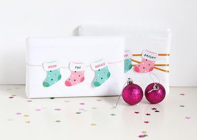 Adorable Stocking Christmas Gift Tags