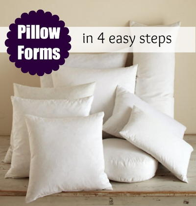 Inserts for DIY Pillows