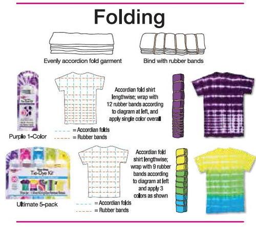 Folding Tie-Dye Technique from Tulip   FaveCrafts.com