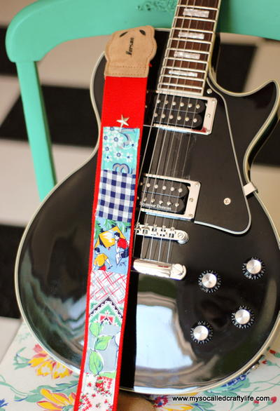 Scrappy DIY Guitar Strap