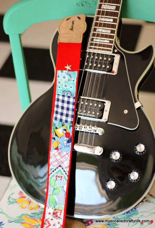 Scrappy Diy Guitar Strap Allfreesewing Com