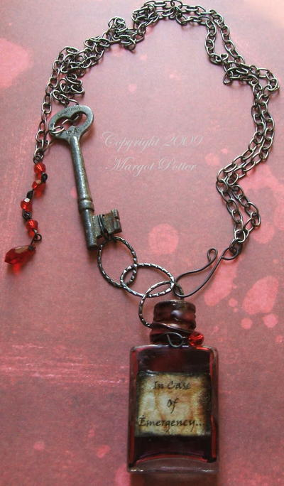 Vampire Vial Necklace