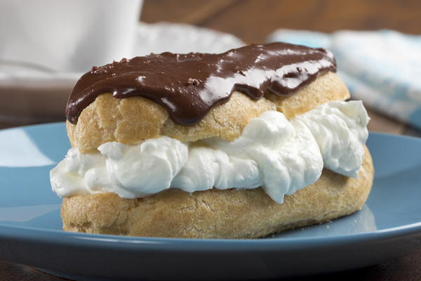 Creamy Cloud Eclairs