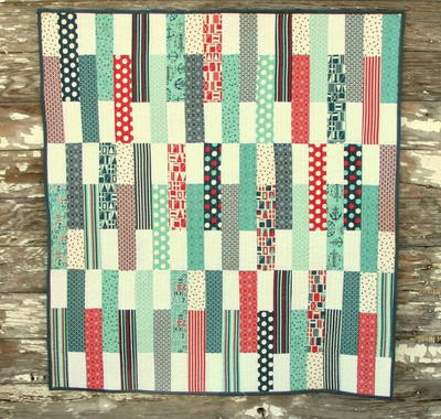 Stick Shift Crib Quilt Pattern