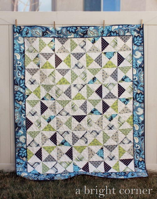 My Fair Verona Hourglass Quilt