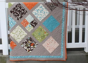 Chrysalis Lattice Quilt Pattern
