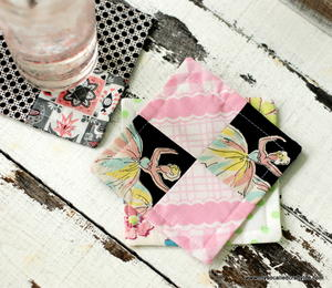 Patchwork DIY Coasters