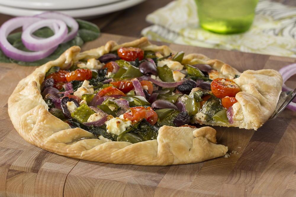 Rustic Veggie Pie | MrFood.com