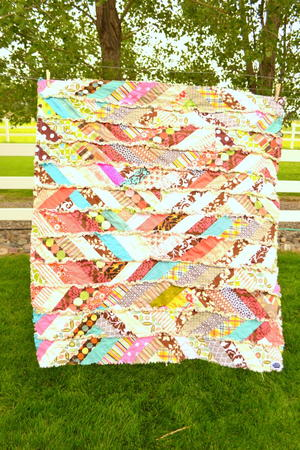 It's Fall Y'all Rag Quilt