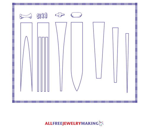 Paper Bead Pattern Printable
