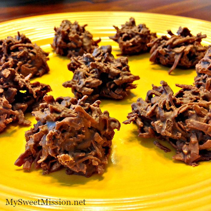 2 Ingredient Chocolate Haystacks Recipelion Com