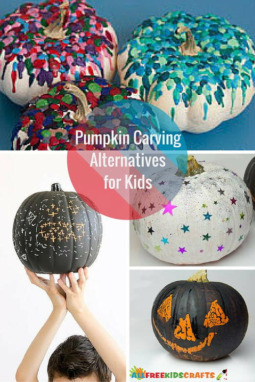 Painted Pumpkin Ideas: Carving Alternatives for Kids