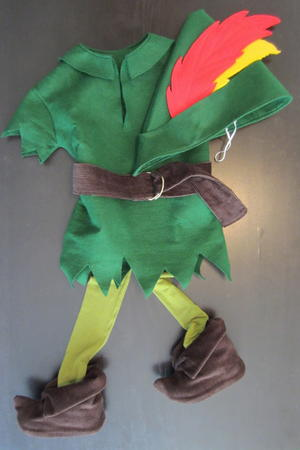 Homemade Peter Pan Costume