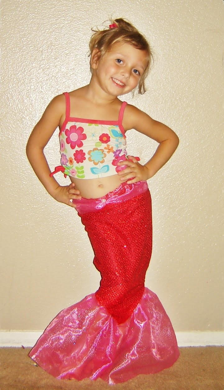 Sparkly Mermaid Tale Halloween Costume Allfreesewing Com