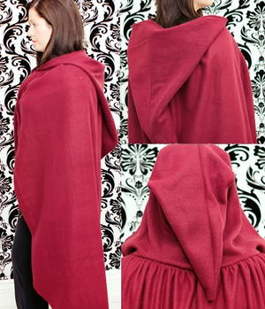 Diy Little Red Riding Hood Costume Allfreesewing Com