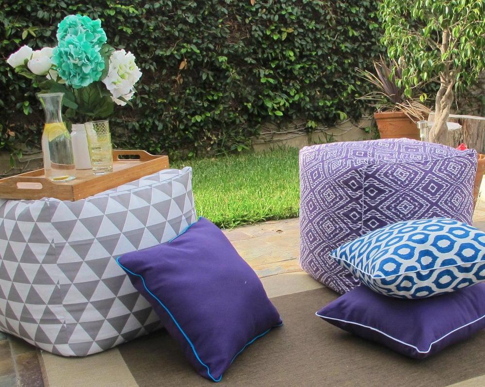 diy pillows for outdoors diyideacenter