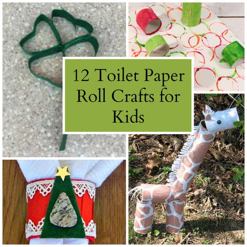 Paper Towel Rolls Crafts: 12 Toilet Paper Roll Crafts For Kids