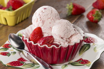 Strawberry Patch Ice Cream