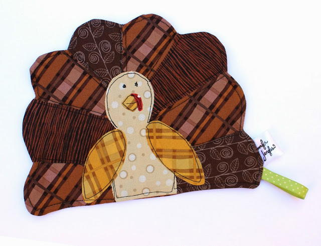 Thanksgiving Turkey Pot Holder Pattern Allfreesewing Com