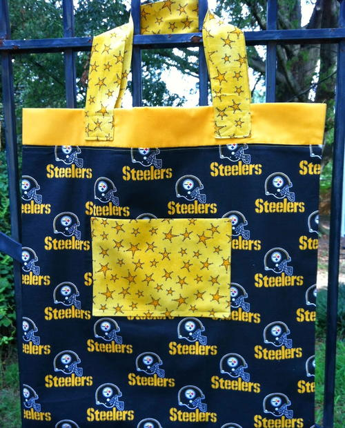 Game Day DIY Tote Bag