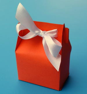 DIY Paper Treat Box Sometimes Gift Wrapping Ideas