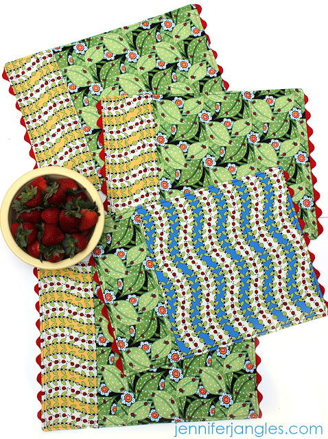 Reversible Diy Placemat Patterns Allfreesewing Com