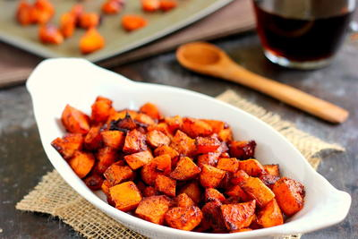 5-Ingredient Roasted Sweet Potatoes