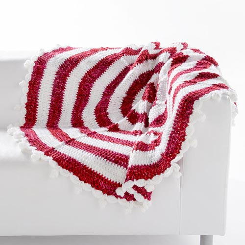 Peppermint Stick Afghan