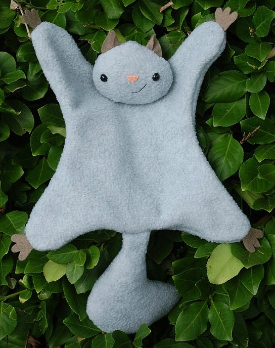 Flying Squirrel Softie Pattern
