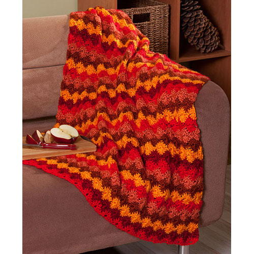 Amazing Autumnal Throw