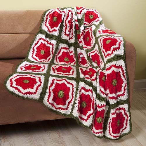 Crochet Afghan Patterns Christmas : Santas Picks: 8 Crochet Blanket Patterns for Christmas ...