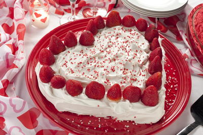 Strawberry Sweetheart Cake