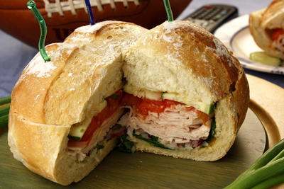 Stuffed Deli Sandwich