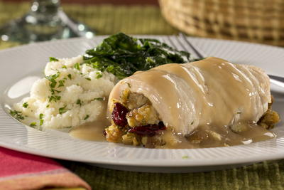 Stuffed Turkey Breast Dinner
