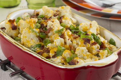 Loaded Cauliflower Casserole