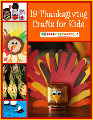 28 Turkey Crafts for Kids: Fantastic Kids' Thanksgiving ...