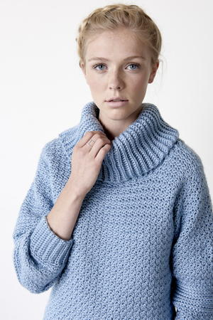 Over Easy Cowl Neck Pullover