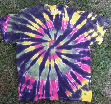 Rastaman Tie Dye Shirt Pattern Favecrafts Com
