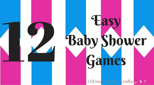 Easy Baby Shower Games
