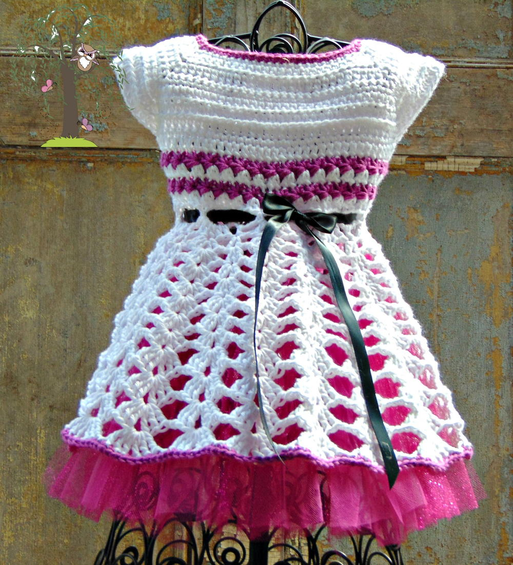 Beautiful crochet dresses for kids trendy - Isabella Crochet Dress
