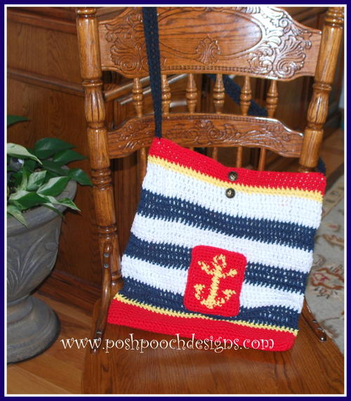 Nautical Lined Tote Bag_1