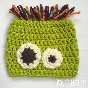 Scared Silly Monster Baby Hat