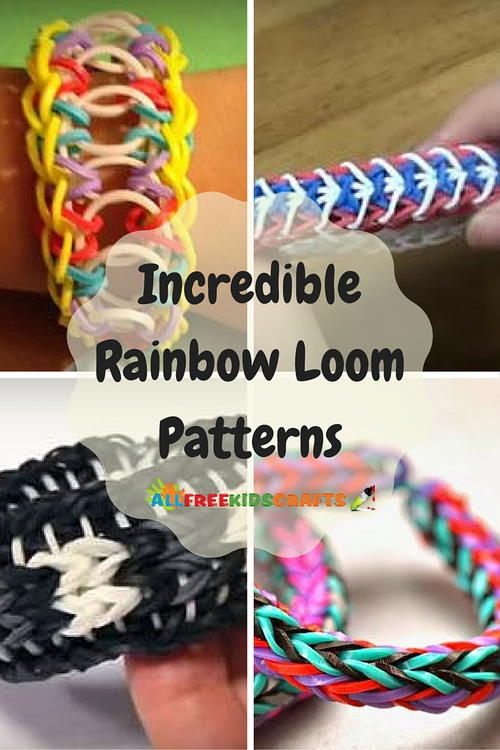 Incredible Rainbow Loom Patterns