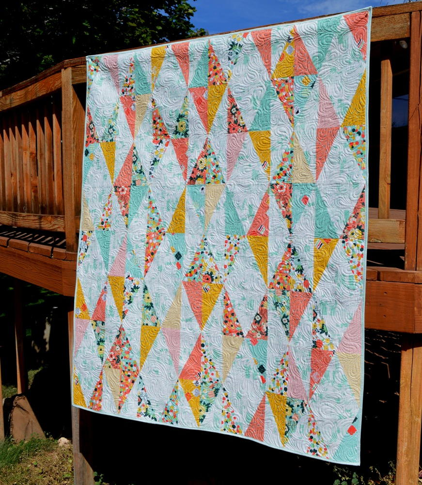 diamond drop quilt pattern
