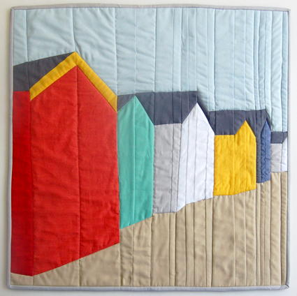 Beautiful Day in the Neighborhood Quilt