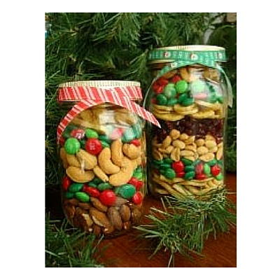 Christmas Treat Jar DIY Christmas Gift