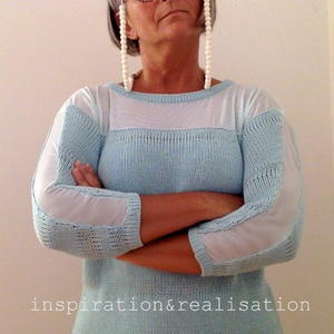 Sheer Bliss Easy Knit Sweater Pattern
