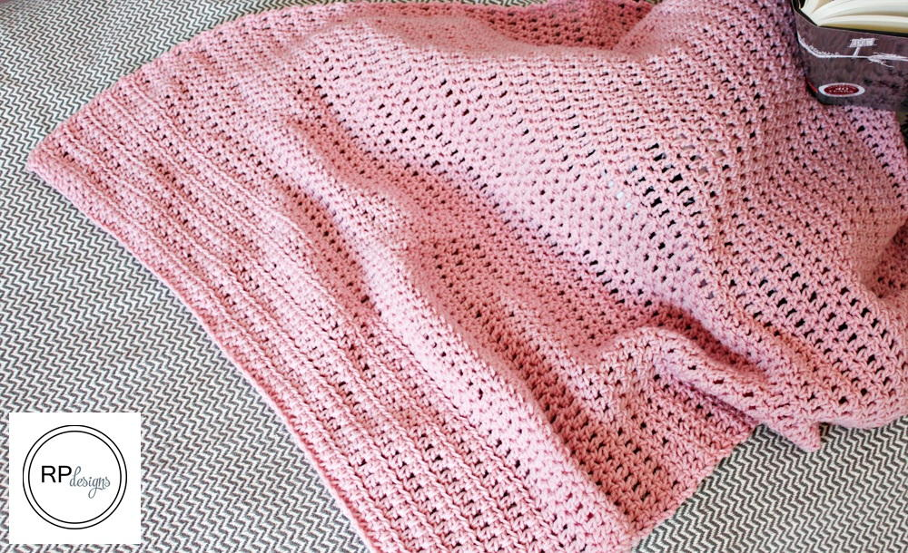 Sweet Simplicity Crochet Blanket Pattern | AllFreeCrochet.com