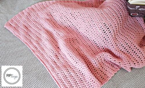 Ever So Striped Super Easy Crochet Baby Blanket
